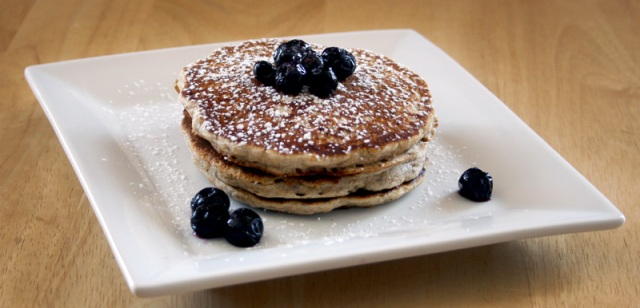 Whole Grain Cinnamon Pancakes
