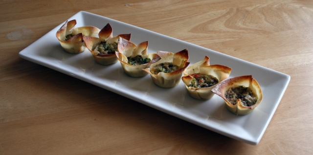 Quiche as an Appetizer