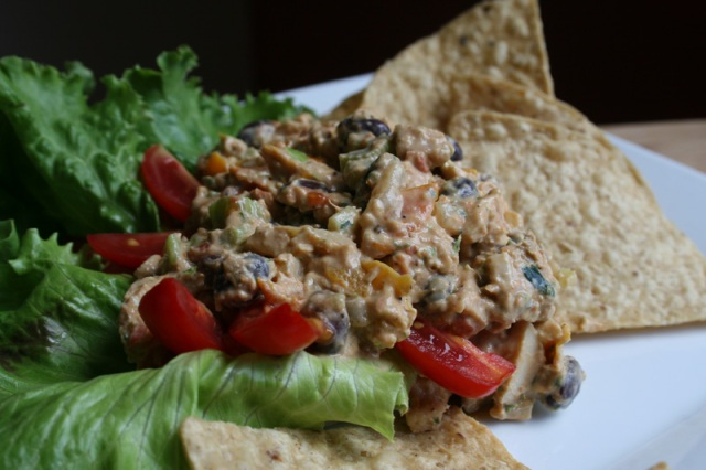 Mexican Taco Style Chicken Salad